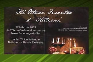 Confira os eventos da semana no país - Entre as atrações, exposições em Minas e na Bahia, Feira da Agricultura Familiar, no Pará, Festa do Dia do Agricultor, em Jabuticaba, São Paulo e Jantar Italiano, no Sul.