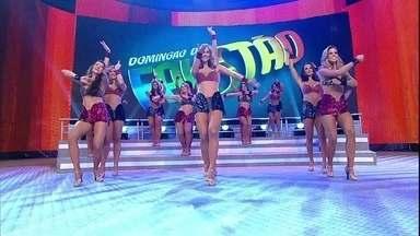 Lindas, bailarinas do Faustão arrasam em coreografia incrível - Gatas trazem uma apresentação de arrasar para a galera