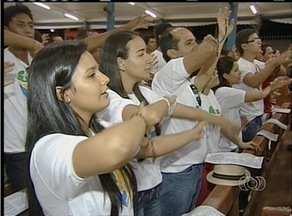 Jovens do Tocantins participam da Missa de Envio antes de embarcarem para a JMJ - Jovens do Tocantins participam da Missa de Envio antes de embarcarem para a JMJ