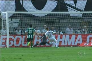 Santos joga bem contra o Coritiba, mas perde muitos gols e fica no empate - Neílton e Cícero conseguiram acertar o alvo uma vez cada.