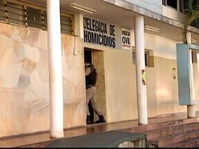Testemunhas depõem sobre morte de médico em roubo a banco em MG - Vítima foi baleada em troca de tiros após explosão a caixa eletrônico. Delegado de Uberlândia investiga de onde partiu a bala que atingiu médico.