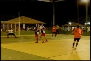 Muitos gols e emoção na rodada de abertura da Copa Inter TV de Futsal em Patis - Jogos em Salinas começam nesta terça (23).