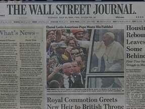 Imprensa estrangeira critica condições da segurança do Papa no Brasil - O The New York Times destacou o momento em que a multidão cercou o carro que levava Francisco. O Washington Post afirmou que os problemas começaram quando o motorista virou na rua errada atrás da carreta oficial.