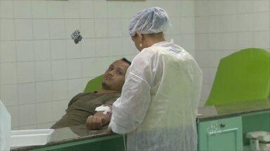 O Hemoap volta a enfrentar dificuldades com estoque de sangue raros no Amapá - O Hemoap volta a enfrentar dificuldades com estoque de sangue raros.
