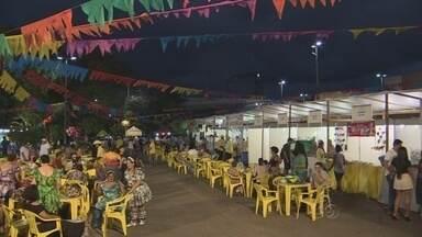 Em ritmo de festa julina, Arraial do Studio 5 atrai público em Manaus - Danças, comidas típicas e brincadeiras estão entre as atrações.Arraial segue durante o sábado (27) e domingo (28).