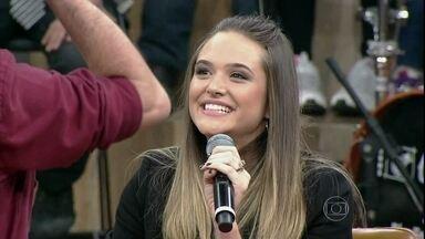 Juliana Paiva conta que está confiante com novo desafio na carreira - Atriz estará se preparando para a próxima novela das sete