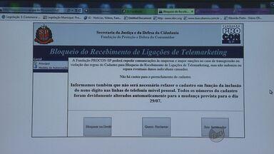 Conheça a lei que permite bloquear ligações de serviço de telemarketing - Conheça a lei que permite bloquear ligações de serviço de telemarketing.