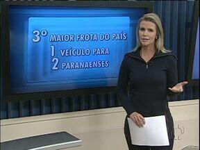 Paraná é o terceiro estado com a maior frota de carros do país - O estado só fica atrás de São Paulo e Minas Gerais.