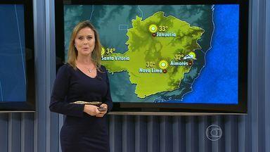 Temperatura continua subindo na Região do Triângulo Mineiro - Massa de ar quente e seco continua muito forte no estado.