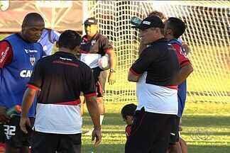 Com PC Gusmão apenas assistindo, Dragão enfrenta Chapecoense - Novo técnico ainda não comanda o Atlético-GO nesta terça-feira