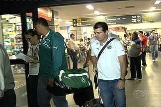 Goiás retorna a Goiânia preocupado com o Z-4 - Alviverde não vence há três rodadas e se vê próximo da zona de rebaixamento