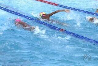 Trio feminino de natação em SE se classificou para os Jogos Escolares da Juventude - Nos Jogos da primavera a natação já tem três destaques femininos que se classificaram apara os Jogos Escolares da Juventude.