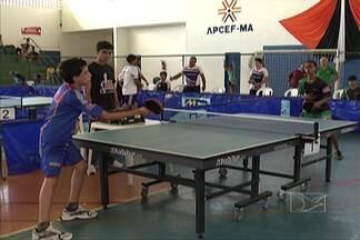 Estudantes disputam a classificação no tênis de mesa - Jogos Escolares estão na fase final e alunos das escolas de todo o Maranhão brigam pela vaga nas etapas decisivas para faturar o título