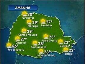 Sol volta na quarta-feira em Curitiba - Há previsão de neblina pela manhã.