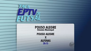 Confira os jogos que vão definir os últimos semifinalistas da Taça EPTV de Futsal - Confira os jogos que vão definir os últimos semifinalistas da Taça EPTV de Futsal