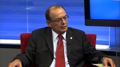 Tribunal Regional do Trabalho faz reunião para discutir acidentes de trabalho - Desembargador José Antônio Parente fala sobre o assunto.