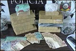 Polícia Civil apreende 12 quilos de crack em Santa Maria - Uma pessoa foi presa por tráfico.