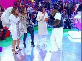 Daniela Mercury e Preta Gil se unem para cantar 'O Mais Belo dos Belos' - Daniela e o 'marrento' do Bonde do Esquenta dançam juntos 'Por Amor ao Ilê'