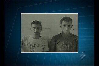 Dois presos são resgatados por bandidos na delegacia de Santa Maria do Pará - Dois presos são resgatados por bandidos na delegacia de Santa Maria do Pará