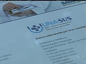 """Médicos estrangeiros vão passar por cursos de reciclagem - Começam a chegar, na próxima semana, os médicos estrangeiros selecionados para atuar no Brasil durante o programa """"Mais Médicos"""". Eles vão passar por cursos de reciclagem."""