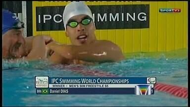Daniel Dias participa de mundial paraolímpico de natação - undefined