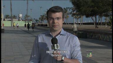 Regional II começa cadastramento das barracas e bares que ficam na faixa da praia - Objetivo é o reordenamento da faixa de areia da Beira Mar.