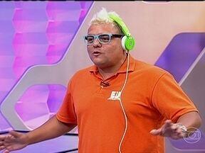 DJ Tartaruga comenta preparação com o 'Eu Atleta' e revela nervosismo para desafio final - DJ do Esquenta afirma que está com medo para a prova de 5km, em Brasília, e preparador físico elogia trabalho feito.