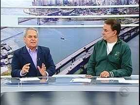 Roberto Alves e Miguel Livramento comentam desempenho dos times da capital - Roberto Alves e Miguel Livramento comentam desempenho dos times da capital