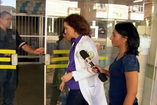 Imagens exclusivas mostram os bastidores de reportagem em hospitais - A repórter Danielle França entra em cinco hospitais de Fortaleza, no Ceará. Bastidores mostram as primeiras imagens da chegada da jornalista em cada um deles.