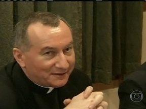 Papa Francisco indica novo Secretário de Estado do Vaticano - Pietro Parolin, arcebispo italiano, foi o escolhido. O cargo é tão importante, que é chamado de vice-Papa. Ele será o principal assessor do Papa.