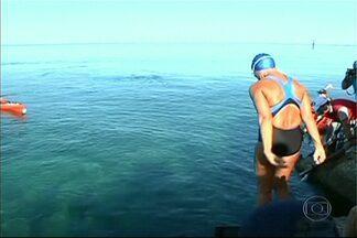 Americana de 64 anos nada 170 quilômetros de Cuba até os Estados Unidos - Diana Nyad completou nesta segunda-feira a travessia a nado entre Cuba e Key West, no estado americano da Flórida.