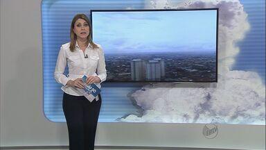 Previsão do Tempo – 04/09/2013 – Ribeirão Preto e região - Chuva em Ribeirão (SP) aumenta índice de umidade do ar.