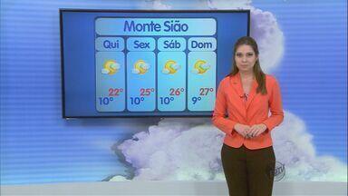 Confira a previsão do tempo no Sul de Minas para essa quarta-feira (4) - Confira a previsão do tempo no Sul de Minas para essa quarta-feira (4)