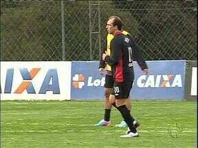 Capitão Paulo Baier pode voltar nesta quarta contra o Santos - Técnico Vagner Mancini só divulgar o time momentos antes da partida.