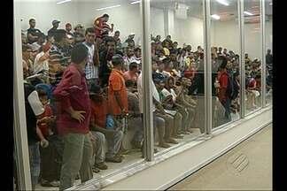 Chega ao terceiro dia paralisação de trabalhadores da Construção Civil - Eles se concentram no auditório da Câmara Municipal de Belém.