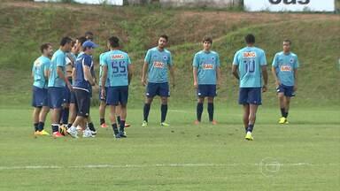 Cruzeiro ainda não está definido para jogo contra o Bahia - O técnico Marcelo Oliveira ainda não escolheu quem serão os substitutos de Souza e Nilton. Júlio Baptista, porém, tem grandes chances de ser titular contra o Bahia.