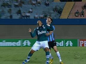Grêmio não segurou Walter, do Goiás - Tricolor perdeu e está em segundo no Campeonato Brasileiro.