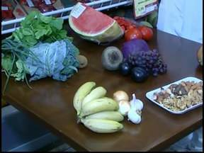 Nutricionista de Divinópolis explica o significado das cores dos alimentos - Cada cor tem vitaminas e sais minerais específicos. Todas são importantes para o organismo.