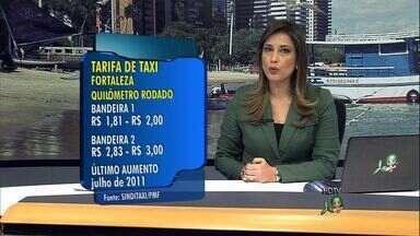 Novas tarifas de táxis devem valer somente na sexta-feira, diz Etufor - Sindicato pretende aumento na quarta-feira.