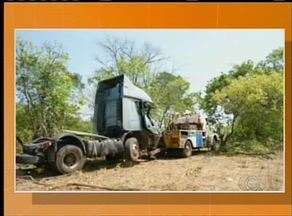 BR-153 registra três acidentes em apenas um dia - BR-153 registra três acidentes em apenas um dia