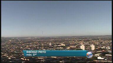 Confira a previsão do tempo nesta quinta em Ribeirão, SP - Máxima deve chegar aos 27 graus durante o dia.