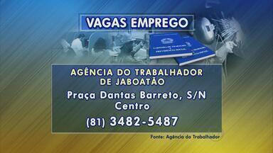 Jaboatão oferece vagas para operador de empilhadeira e atendente de farmácia - São diversas oportunidades na Agência do Trabalho do município.