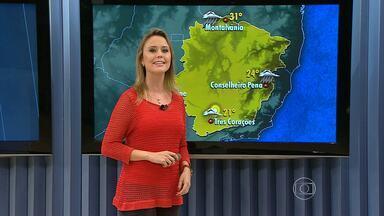 Belo Horizonte pode ter chuva isolada ao final da tarde - O Norte de Minas tem previsão de chuva depois de 110 dias de tempo seco. Pode chover também no Leste e no Noroeste do estado. Veja a previsão para a sua região.