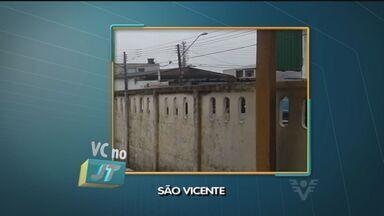 Telespectadora reclama de roubos de fios de cobre na Vila Margarida, em São Vicente - Em um mês ocorreram cinco roubos. O último ocorreu na terça (3), foram 45 metros de fios levados, deixando quatro salas sem luz.
