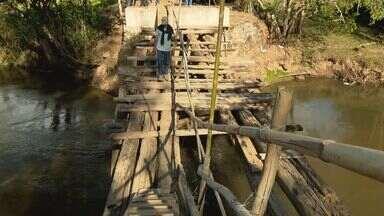 Moradores pedem início da construção de ponte que liga Poço Fundo a Campestre - Moradores pedem início da construção de ponte que liga Poço Fundo a Campestre