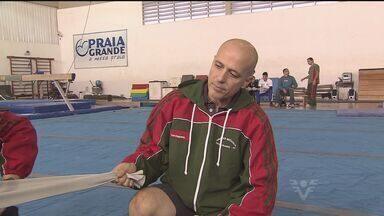 Um dos maiores técnicos de salto com vara visita Praia Grande - Técnico responsável por treinar maiores atletas do país e do mundo visitou o Centro de Ginástica Artística de Praia Grande.