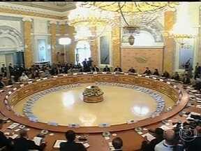 Termina a cúpula do G-20 na Rússia - Potências do mundo falaram sobre a crise na Síria. Segundo a Casa Branca, 11 países concordaram que o regime sírio deve receber uma forte resposta internacional por causa da denúncia do uso de armas químicas.