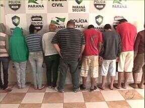 Polícia prende 19 pessoas por tráfico de drogas na região de Paranavaí - As investigações duraram quatro meses e terminaram com a apreensão de meia tonelada de drogas.