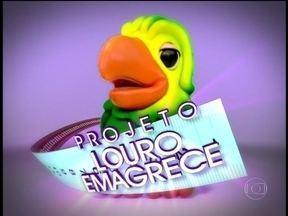 Ana Maria Brinca: 'Estamos lançando o projeto 'Louro emagrece'' - Indignado, papagaio responde: 'Como eu vou provar as receitas que você faz?