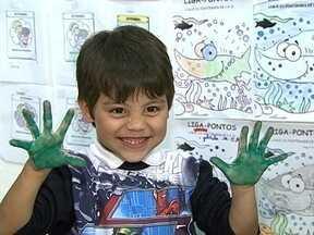 Brinquedoteca da Faculdade Municipal de Palhoça permite que pais estudem - Brinquedoteca da Faculdade Municipal de Palhoça permite que pais estudem